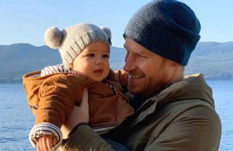 Emotional Prince Harry says he quit the royal family 'to protect son Archie'