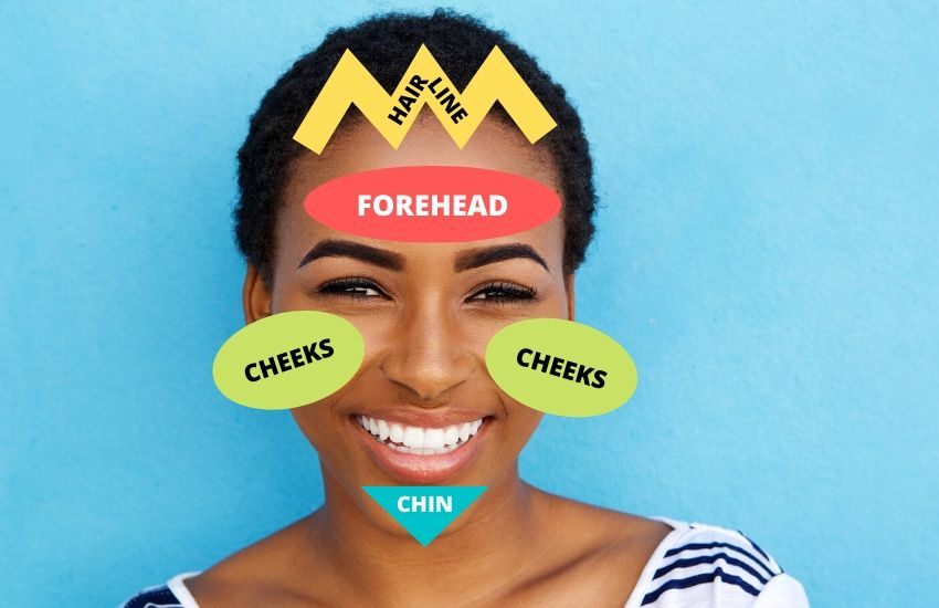 Face mapping: What your acne is telling you