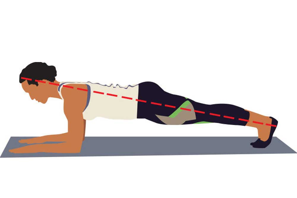 Fitness: How to do a plank