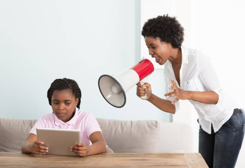 Five things you should never say to your child