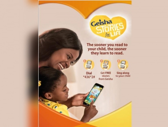 Stories for life: Geisha launches innovative way to tell stories to kids