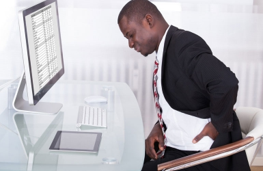 How to get rid of desk work pains