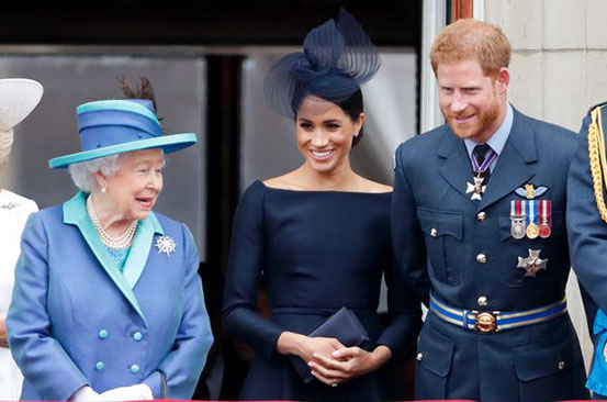 Meghan Markle and Harry's 'dangerous step too far' caused Queen to 'finally hit back'