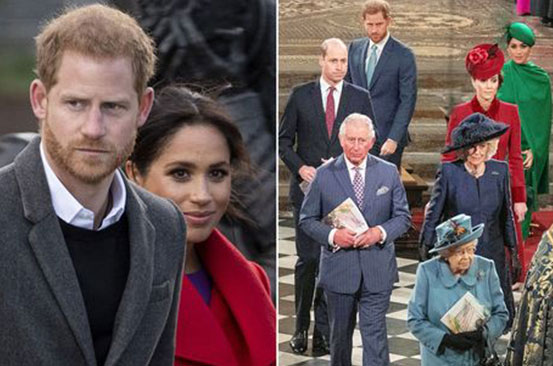 Meghan Markle and Harry 'still facing tension with royals' ahead of end of Megxit deal