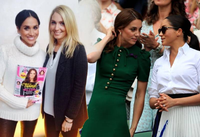 Meghan Markle poses with photo of Kate Middleton years before joining royal family