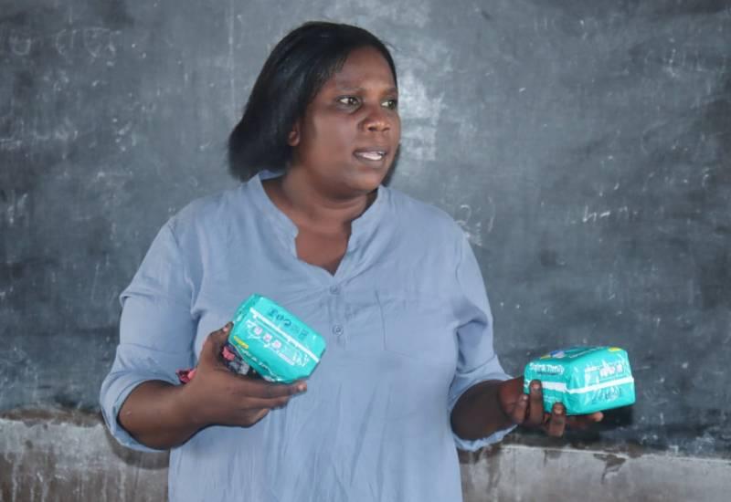 Milka Yuda, menstrual health champion, wins Florence Nightingale medal