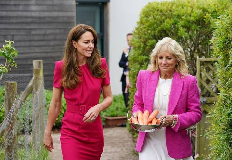 Passionate Kate Middleton teams up with Jill Biden with bid to help pre-school kids