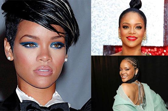 PHOTOS: Rihanna's hairstyles through the years