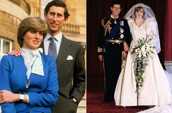 Prince Charles' very unromantic proposal to Diana - and she burst out laughing