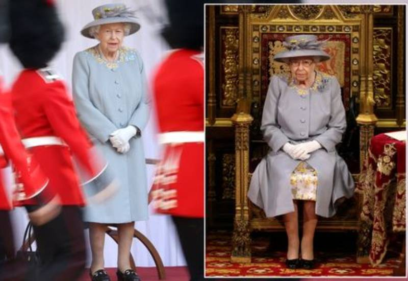 Reason Queen wears same outfit twice in a month - and it's a royal custom