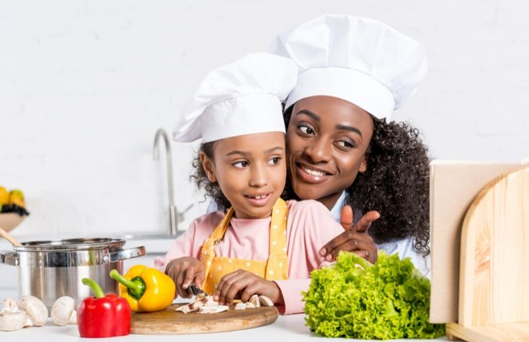 Seven meals you can prepare with your kids