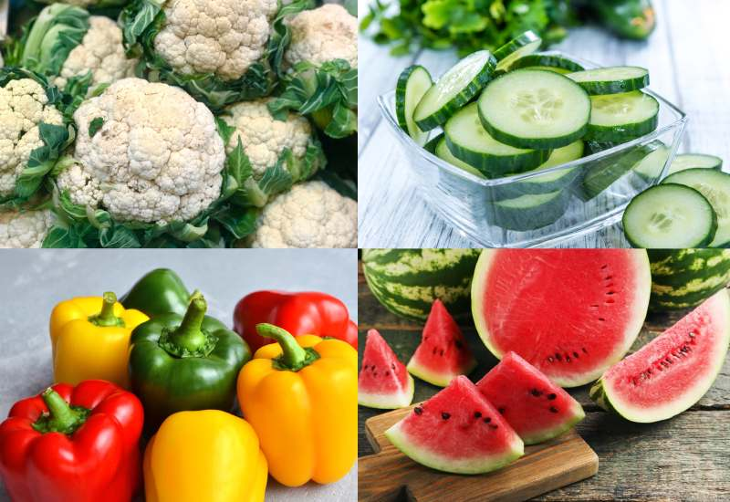Six foods that can keep you hydrated