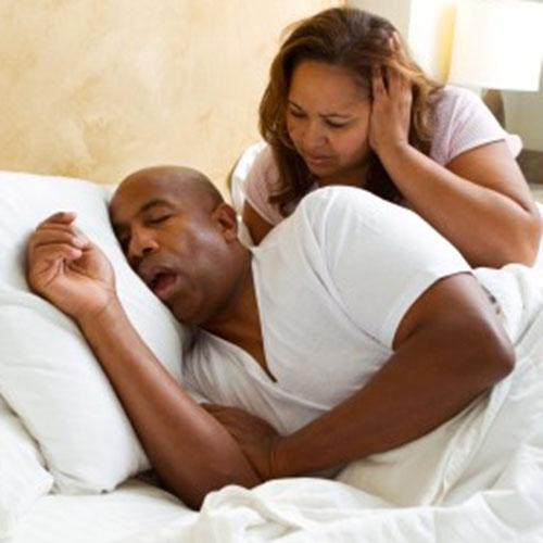 snoring husband
