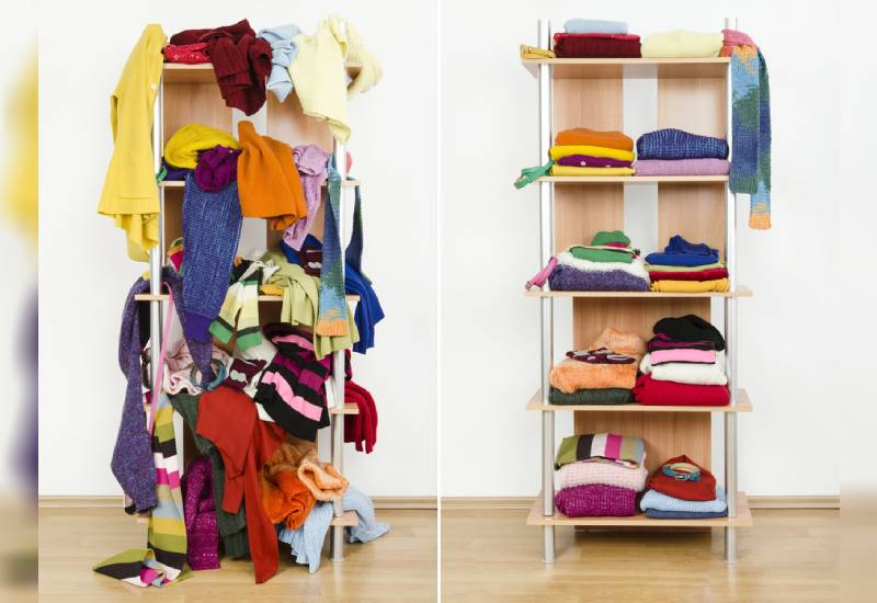 Things you should consider when clearing out your closet