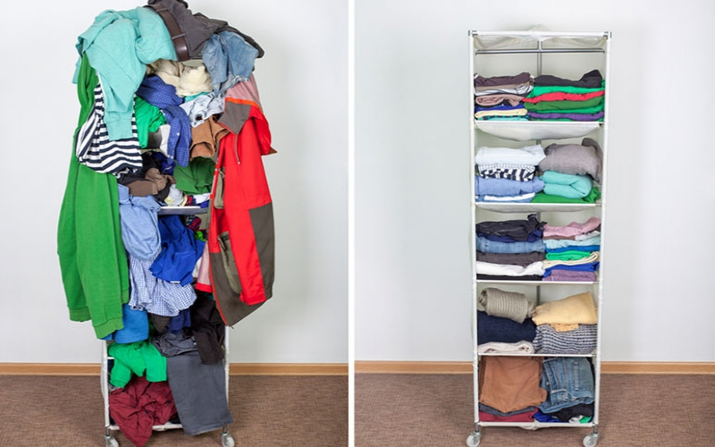 A step-by-step guide to decluttering your closet