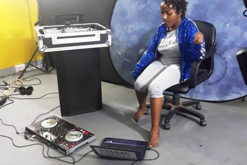 Beating all odds: Kenyan female DJ with cerebral palsy