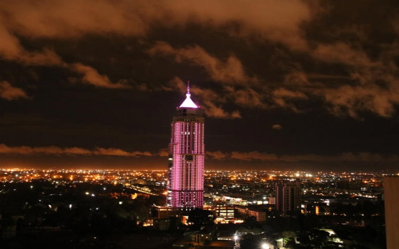 Breast cancer awareness: UAP Old Mutual Tower turns pink