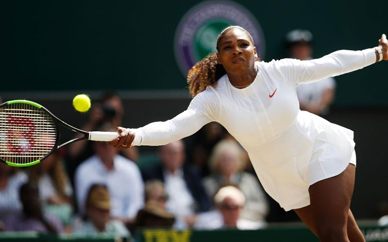 Down but not out:  Serena Williams warms hearts with inspiration message to mothers after losing match