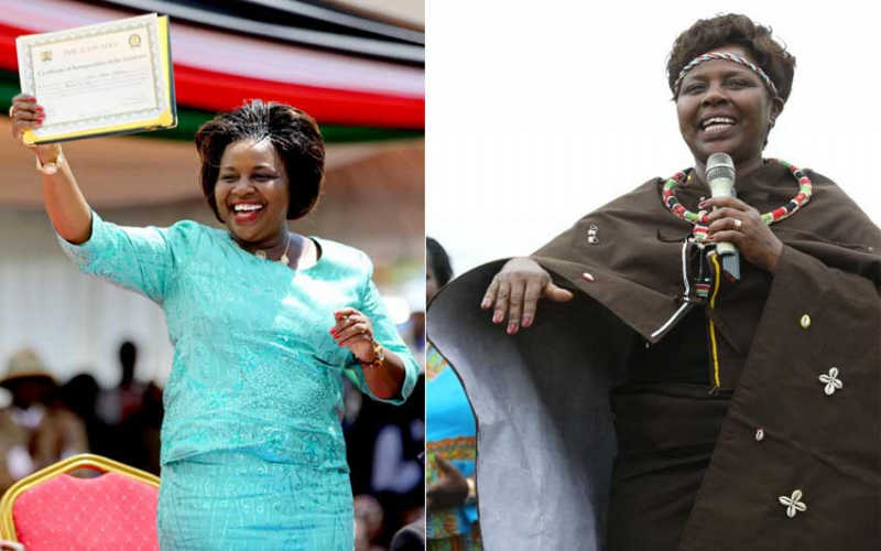 Dr Joyce Laboso's special affinity for being first