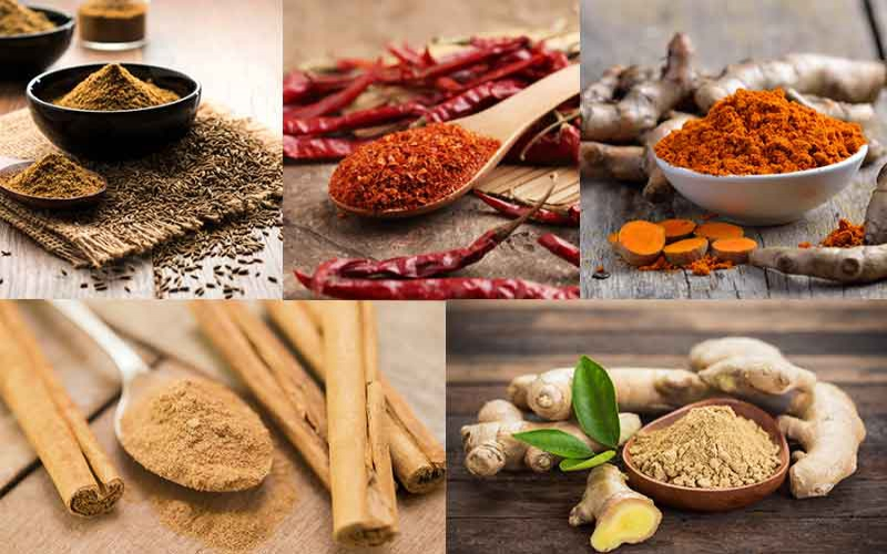 Five kitchen spices that will help you lose weight
