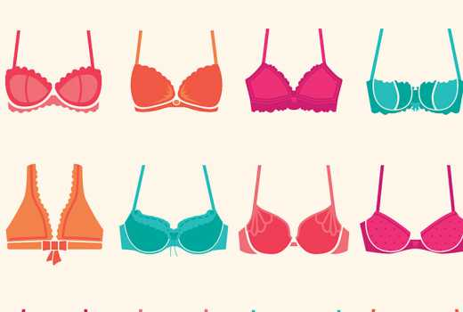 Five types of bras every woman needs