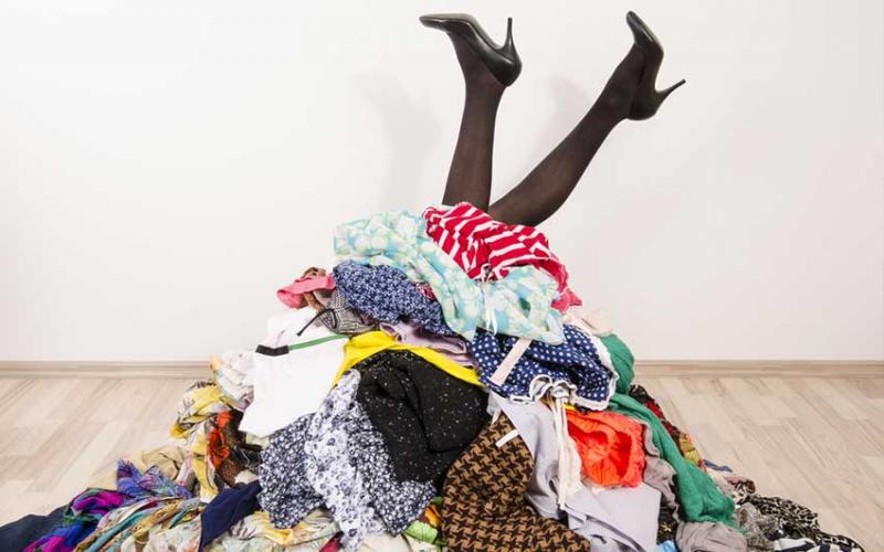 Five ways to detox your closet