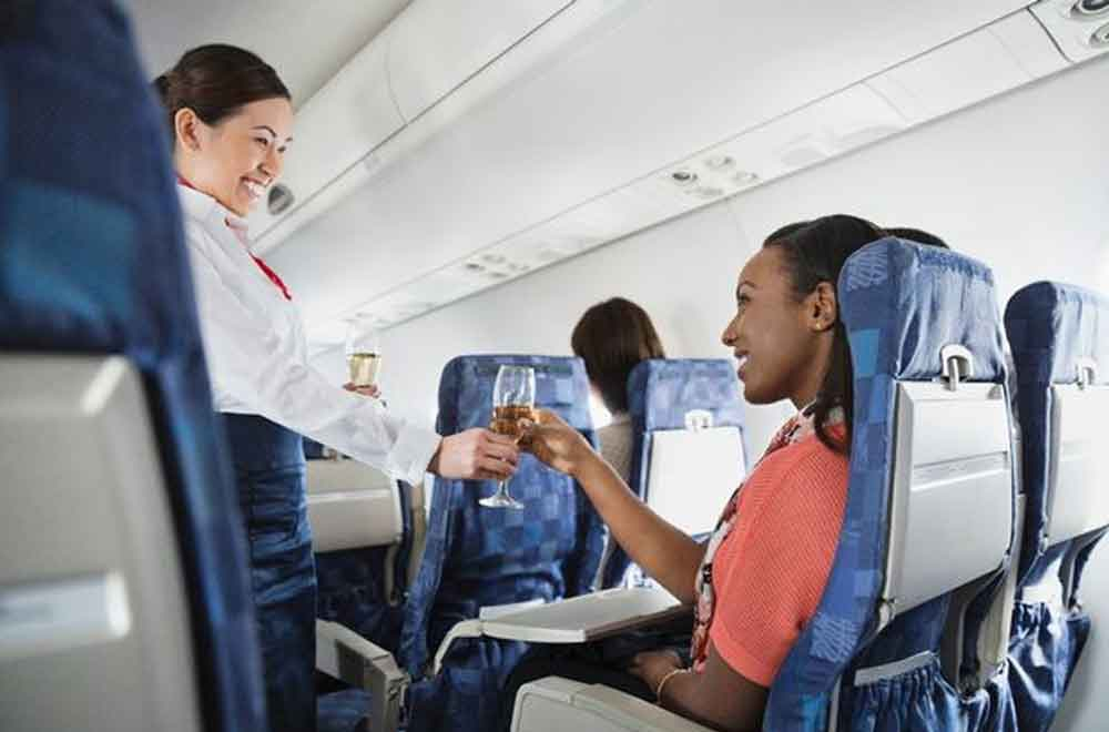 Flight attendants reveal their odd use for sanitary towels on planes
