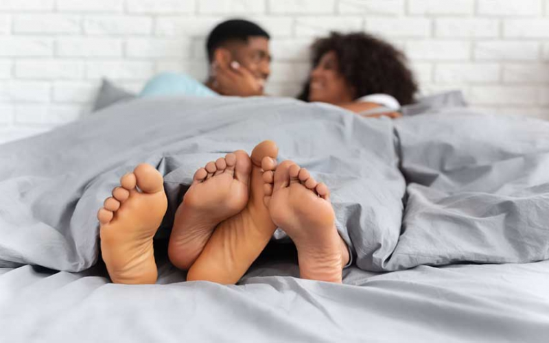 How to 'keep it warm' with your partner this cold season