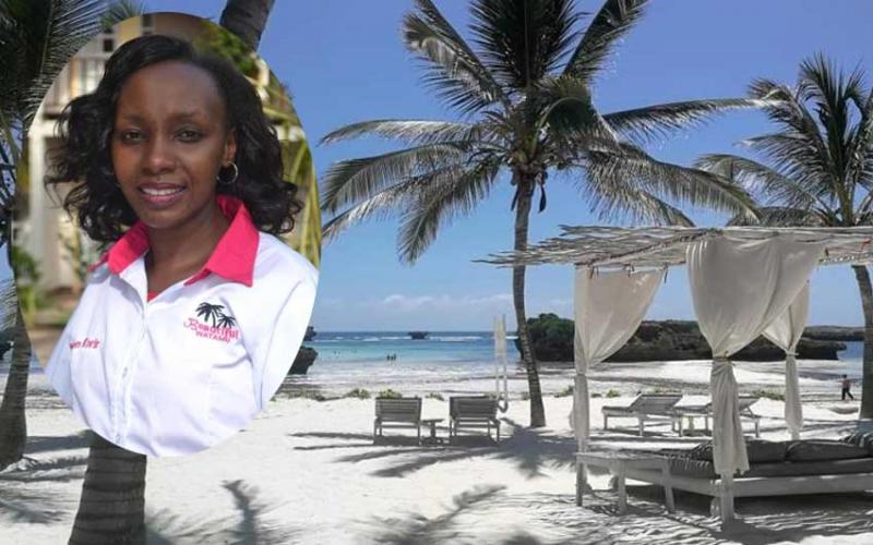 I market Watamu to help my students get jobs, achieving woman Karen Korir