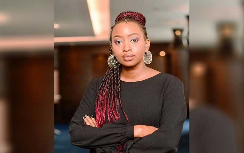 Janet Mbugua calls for setting up policies around menstrual health management