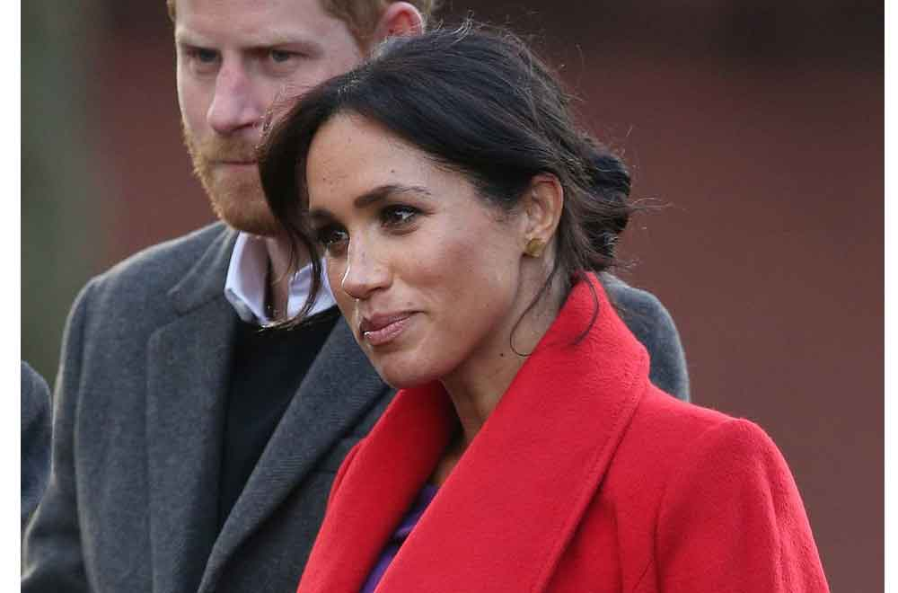 Lady in red: Meghan Markle stuns in her new pregnancy look