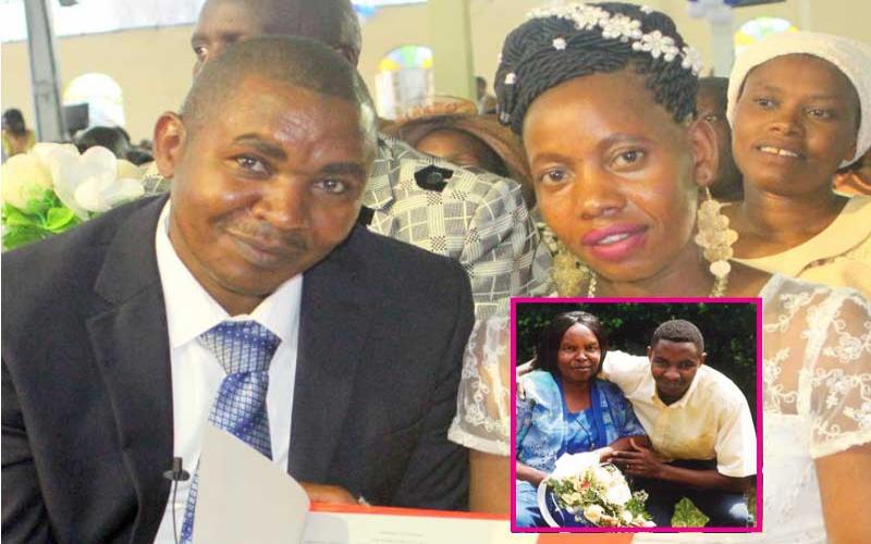 Mbugua remarries 8 years after Wambui Otieno loss