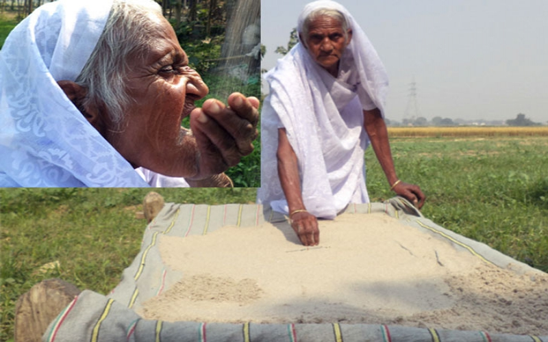 Meet 80-year-old woman who eats sand and gravel for good health