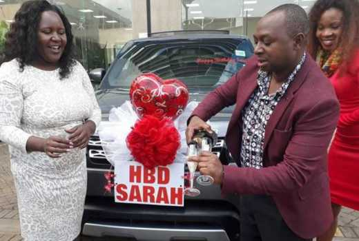 Remember the man who gifted his wife a brand new Ranger Rover on her birthday? This is what he did for her on Valentines