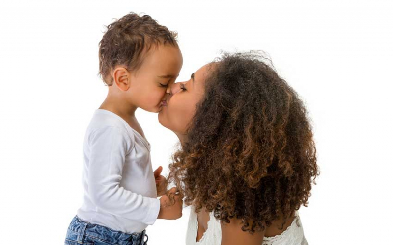Should you kiss your kids on the lips?