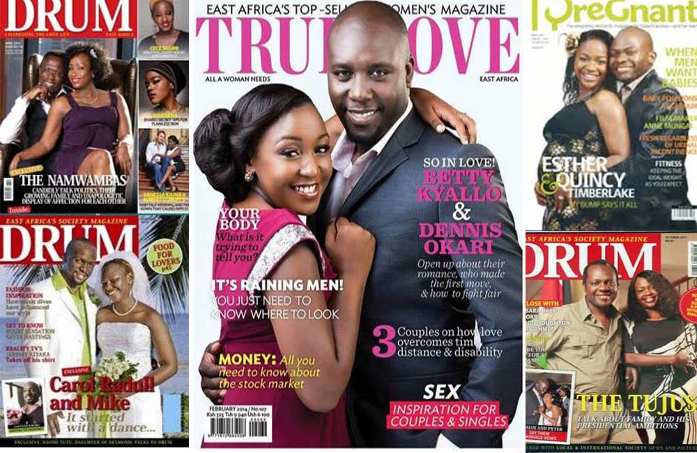 To share or not to share love stories? Couples who made magazine covers but split not long after