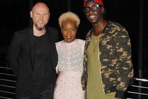 Video of the week: Sauti Sol's Bien sings to Annabel Onyango's son and we love it!