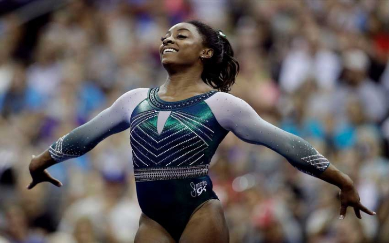 World's greatest gymnast? Simone Biles soars to sixth title at national championships
