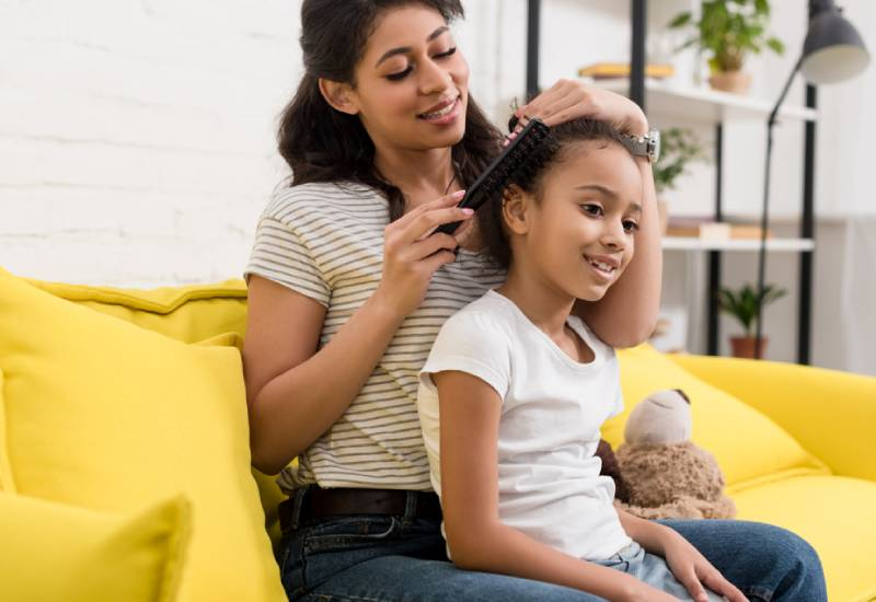 Tips on how to nurture your daughter's natural hair
