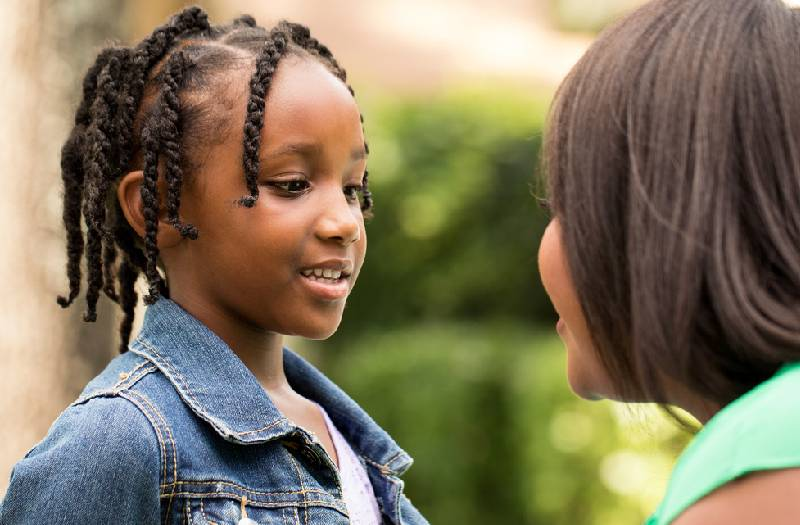 What your child wants you to know to make him/her feel safe
