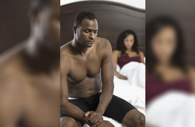 What to do when he's too anxious to perform in bed