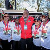 UK Kenyans share day of marathon glory