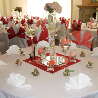 Valentine's themed wedding