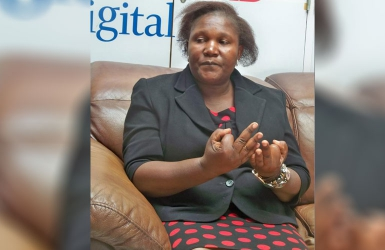 A tale of a woman who did not let deafness halt her dreams
