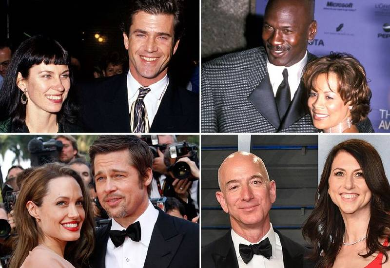 Billions at stake: Most expensive celebrity divorces of all time