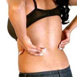 How can I get rid of back pain without the need for taking pills?
