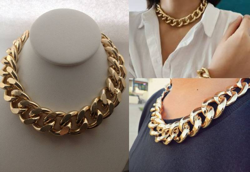 #FashionTips: Are chunky chains making a comeback?