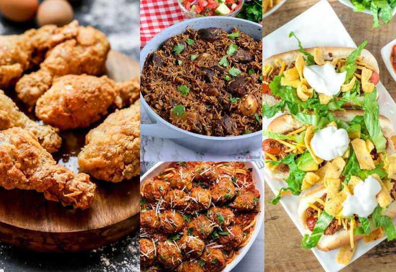 Five simple meals you can try out this season