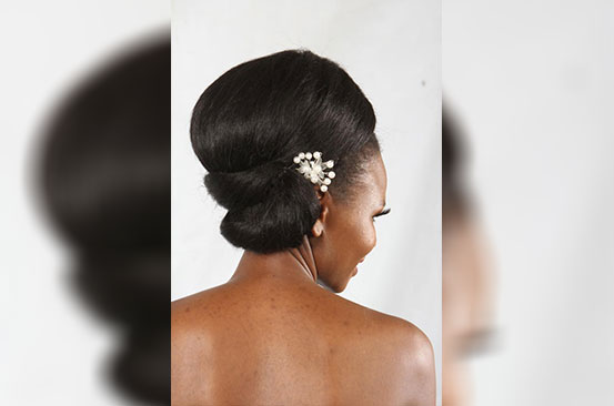 Head games: Afro turned vintage!