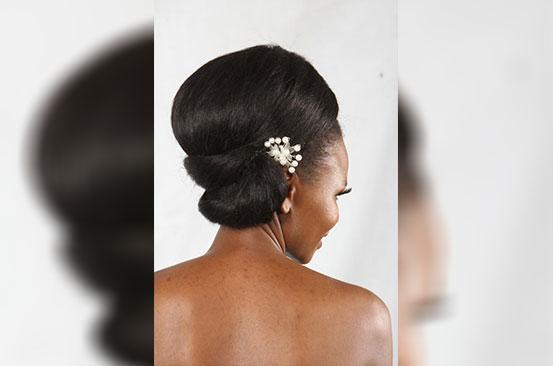Head games: Afro turned vintage!